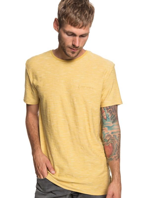 0 Ken Tin Tee Yellow EQYKT03687 Quiksilver