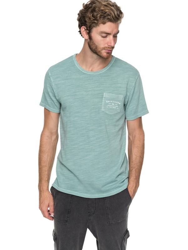 0 Vancheck - T shirt avec poche pour Homme Bleu EQYKT03706 Quiksilver