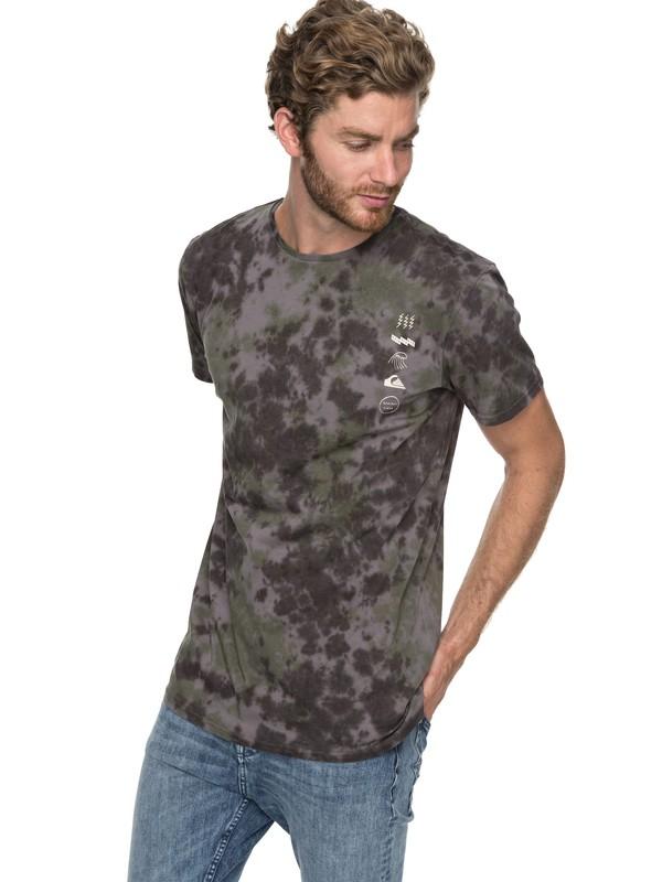 0 Gibus Moon - T Shirt col rond Noir EQYKT03711 Quiksilver