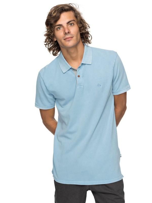 0 New Miz Kimitt - Polo pour Homme Bleu EQYKT03715 Quiksilver