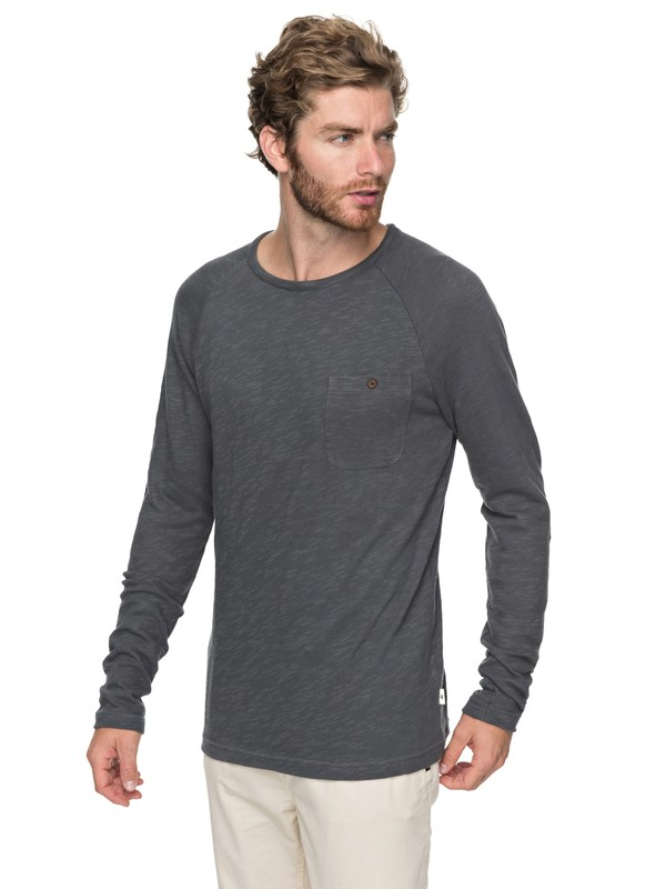 0 Low Tide Sweatshirt Black EQYKT03727 Quiksilver