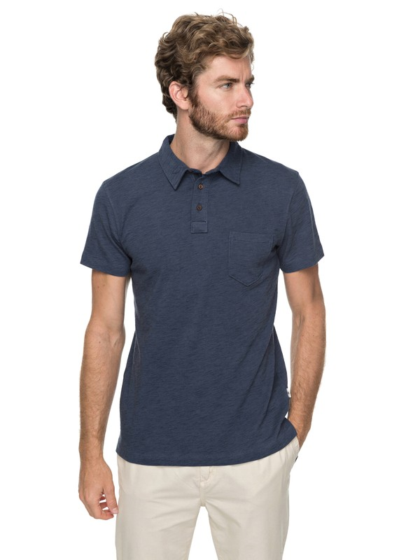 0 Surf Club Polo Shirt  EQYKT03729 Quiksilver