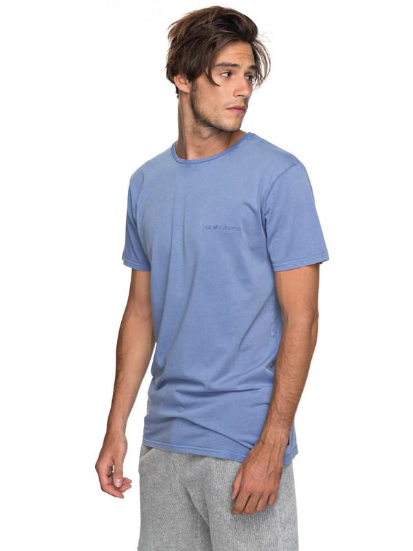 0 Acid Sun - T-Shirt Blau EQYKT03734 Quiksilver