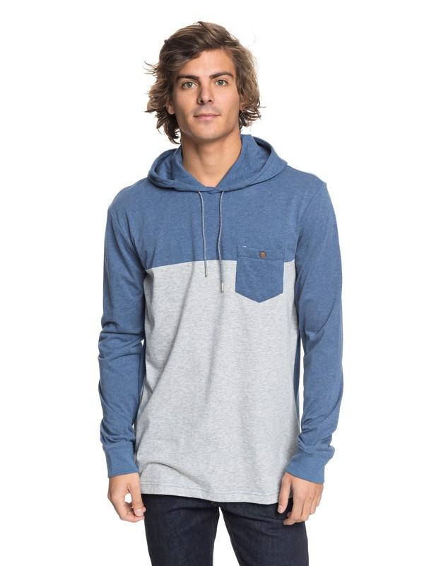 0 Baysic - Long Sleeve Hooded T-Shirt  EQYKT03742 Quiksilver
