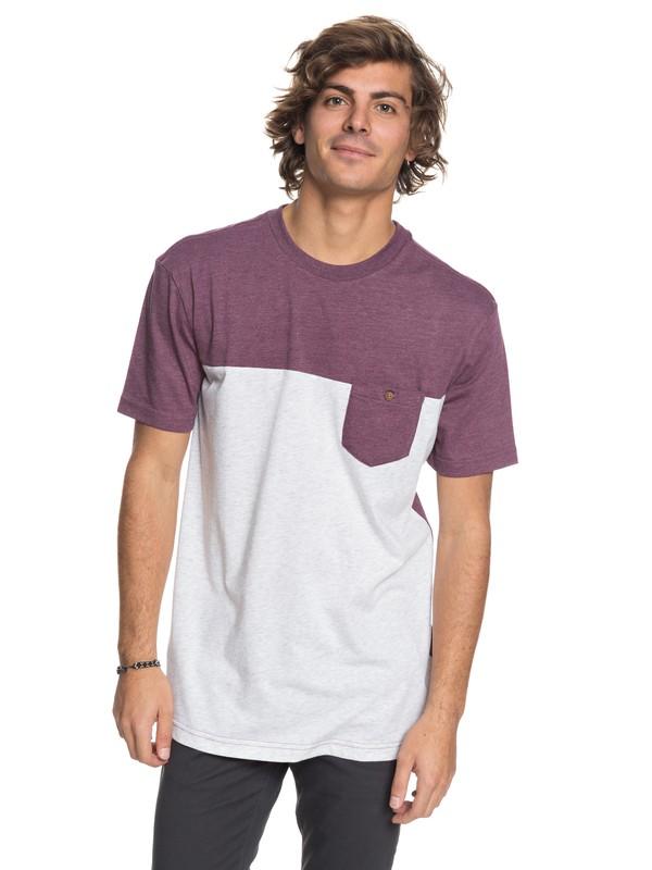 0 Block Pocket - Pocket T-Shirt  EQYKT03743 Quiksilver