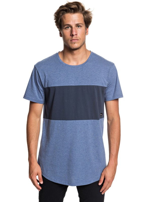 0 Men's Kuju Technical Tee Blue EQYKT03756 Quiksilver