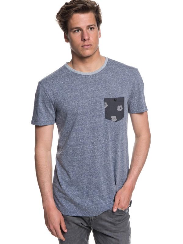 0 Norah Kan - Pocket T-Shirt for Men Blue EQYKT03782 Quiksilver