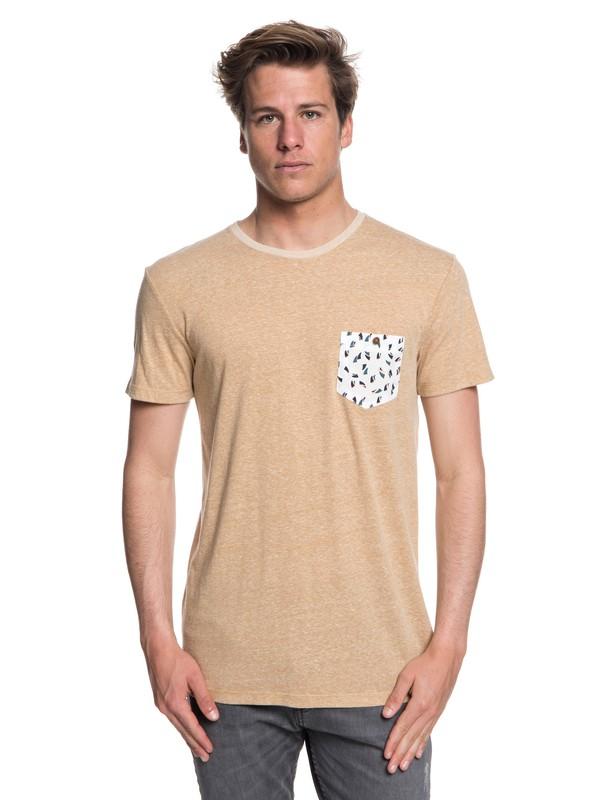 0 Norah Kan - Pocket T-Shirt for Men Beige EQYKT03782 Quiksilver