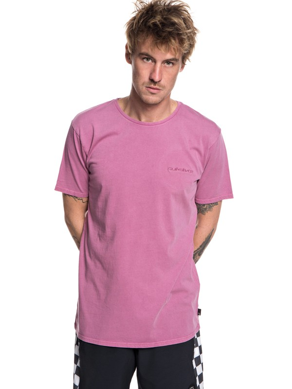 0 Acid Sun - T-Shirt for Men Pink EQYKT03786 Quiksilver