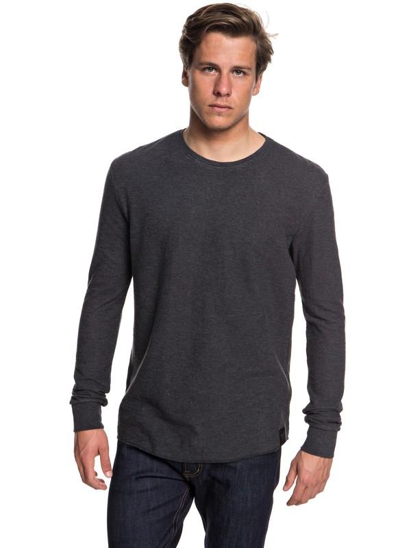 0 Hakone Spring Sweatshirt Black EQYKT03787 Quiksilver