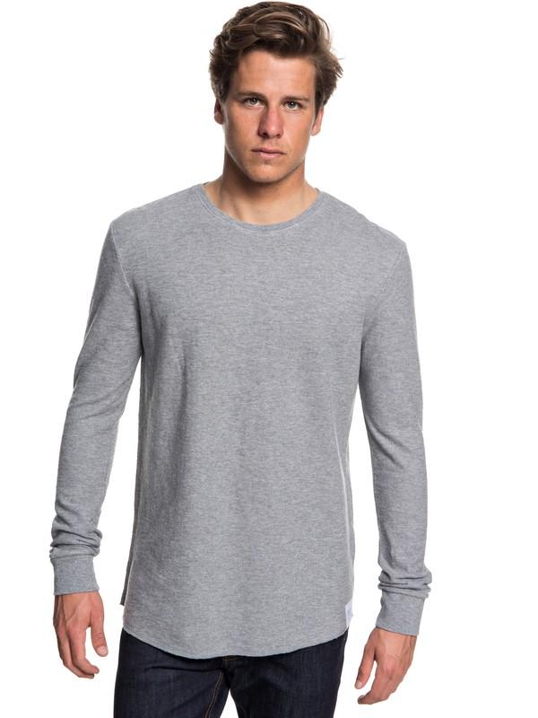 0 Hakone Spring Sweatshirt Grey EQYKT03787 Quiksilver