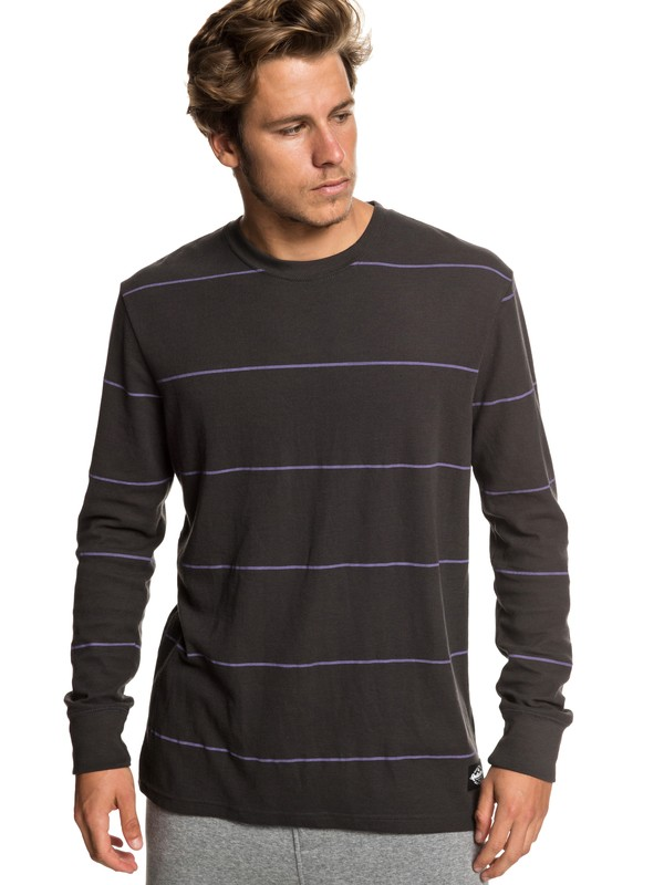 0 Grafton Keys Long Sleeve Top Black EQYKT03834 Quiksilver