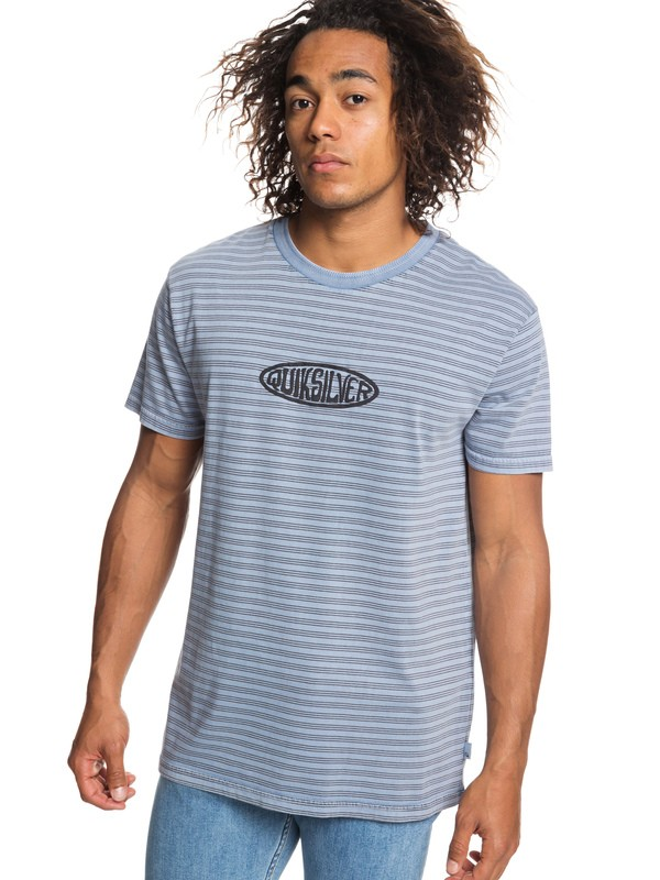 0 Originals Tee Blue EQYKT03839 Quiksilver
