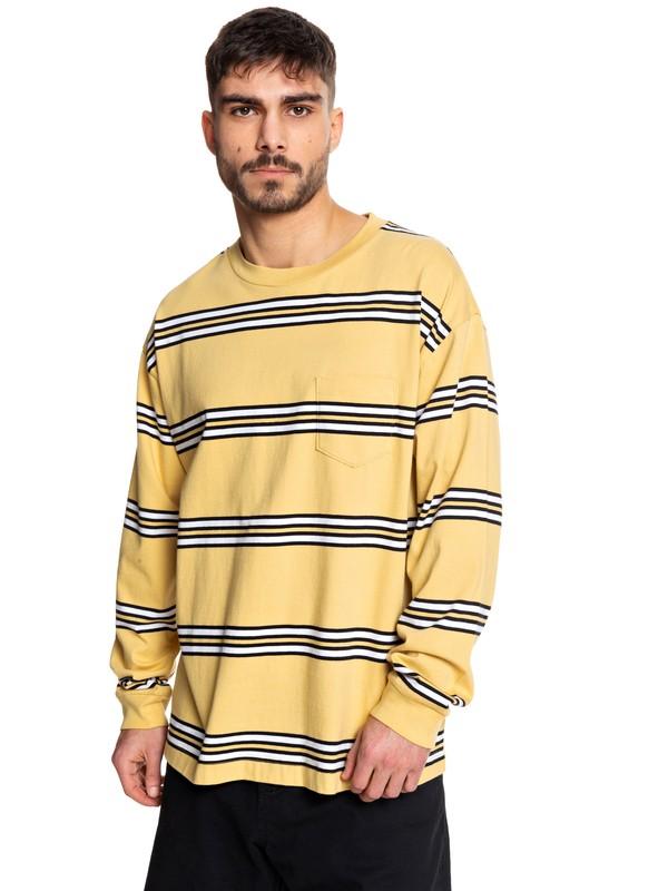 0 Positive Vibrations - Long Sleeve T-Shirt Yellow EQYKT03954 Quiksilver