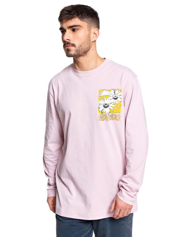 0 STM Long Sleeve Skate Tee Pink EQYKT03955 Quiksilver