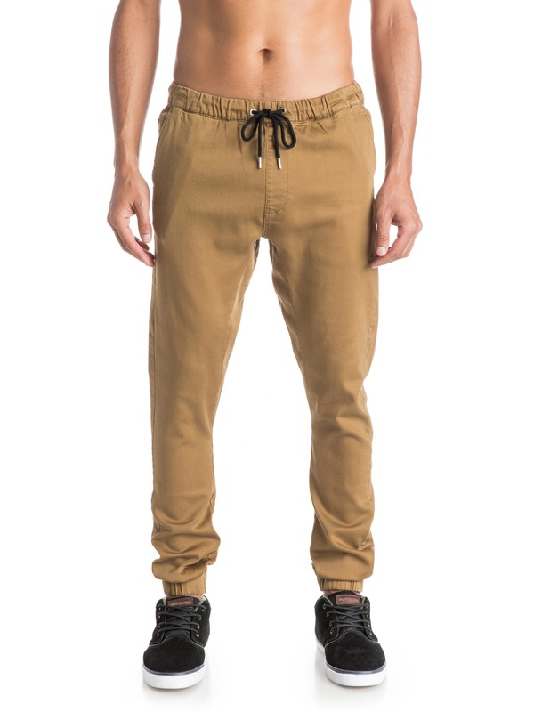 0 Fonic - Pantalones de jogging  EQYNP03073 Quiksilver