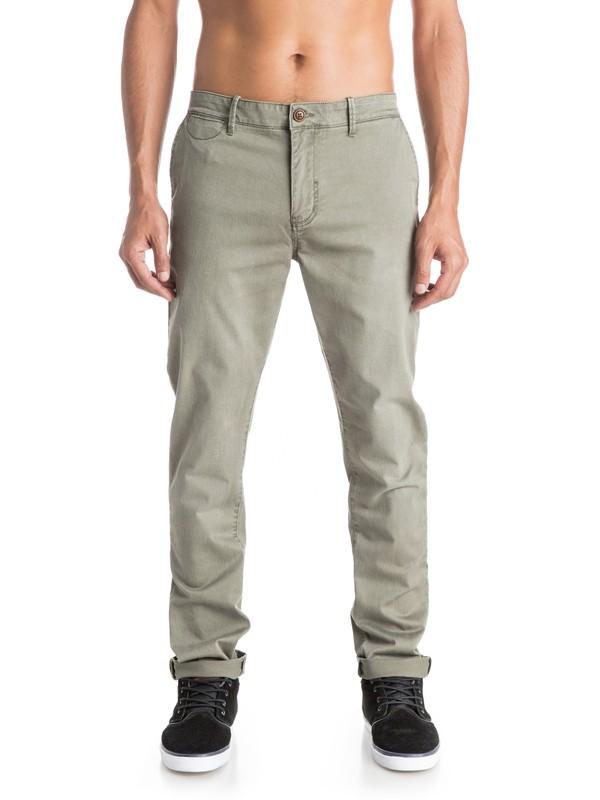 0 Krandy Slim Fit - Pantalon chino  EQYNP03076 Quiksilver