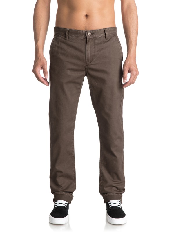 0 Everyday Chinos Brown EQYNP03093 Quiksilver