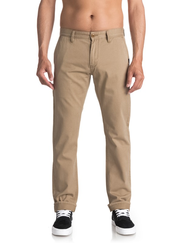 0 Everyday Chinos Beige EQYNP03093 Quiksilver