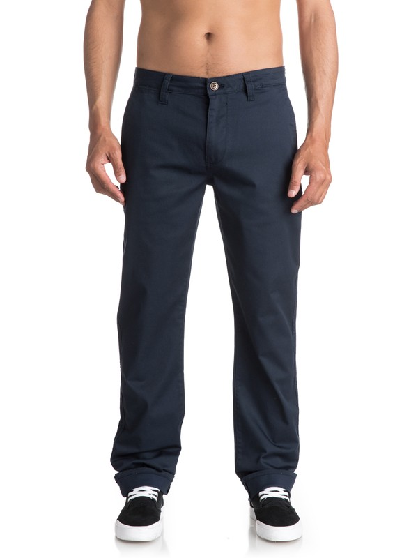 0 Everyday Union Chinos Blue EQYNP03094 Quiksilver