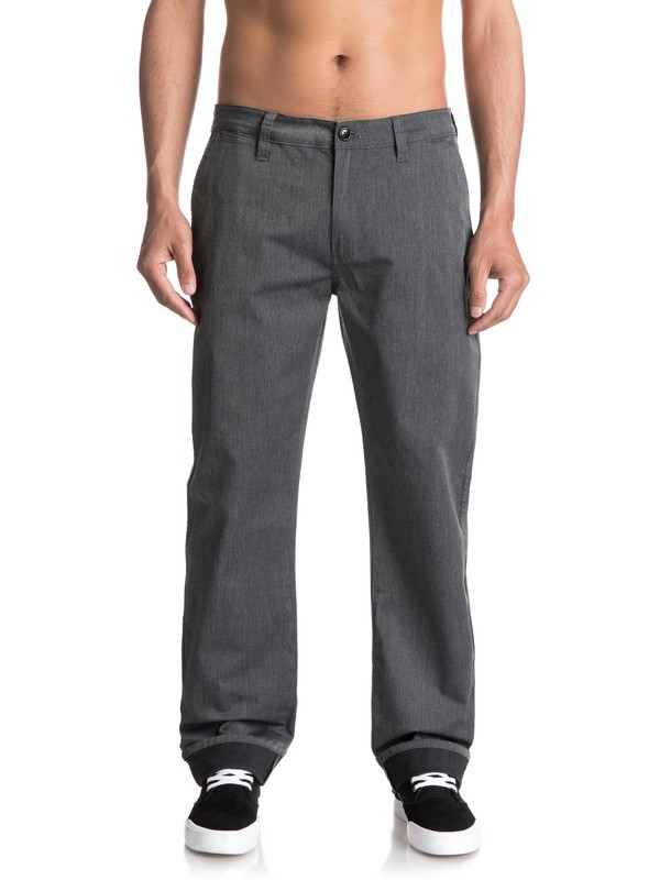 0 Everyday Union Chinos Black EQYNP03094 Quiksilver