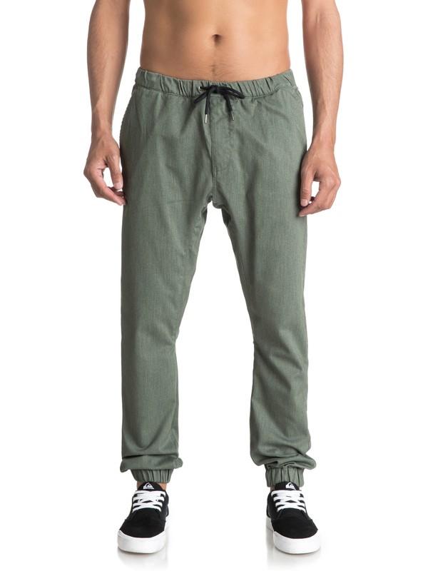 0 Fonic - Pantalón Chino de Chándal para Hombre Negro EQYNP03107 Quiksilver