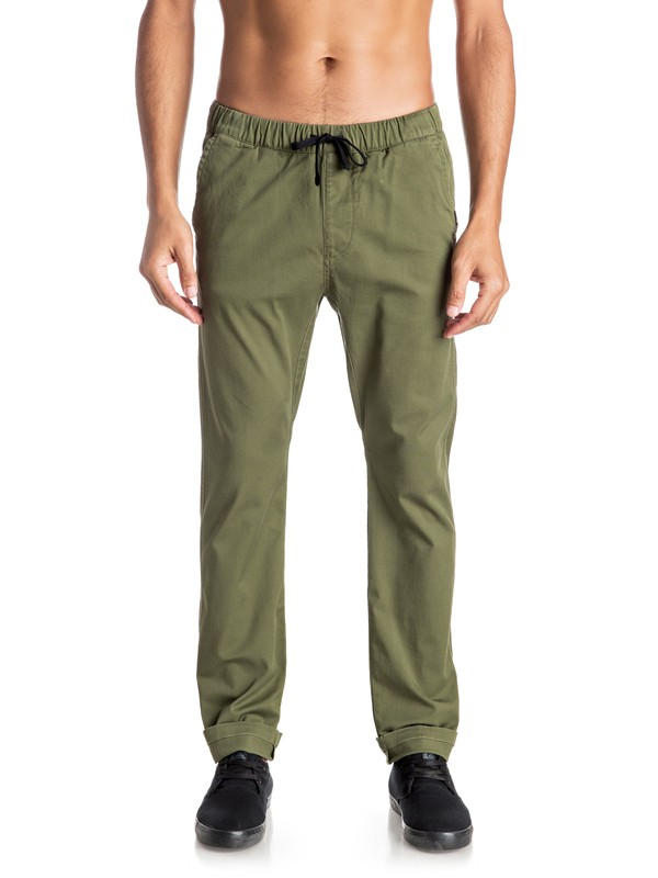 0 Fun Days - Pantalon coupe droite  EQYNP03110 Quiksilver
