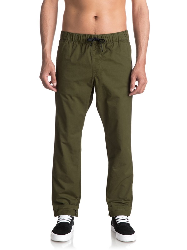 0 Fun Days Straight Fit Trousers  EQYNP03110 Quiksilver