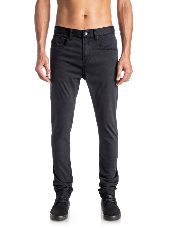 0 Low Bridge - Pantalon slim skinny  EQYNP03115 Quiksilver