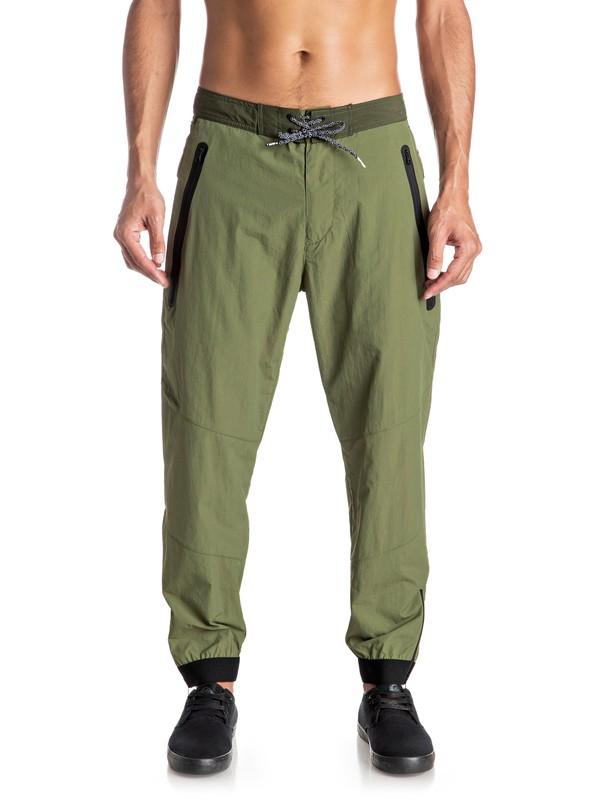 0 Sonic Powers - Pantalon technique Vert EQYNP03120 Quiksilver