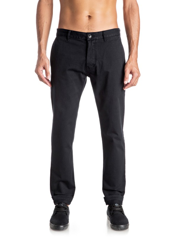 0 Cropped - Chino Pants  EQYNP03121 Quiksilver
