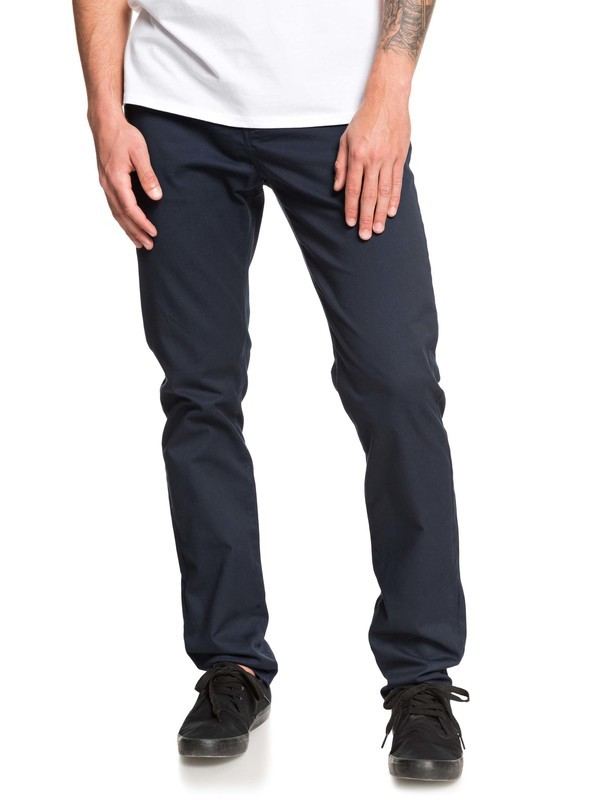 0 New Everyday Union Chinos Blue EQYNP03135 Quiksilver
