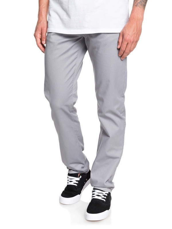 0 New Everyday Union Chinos Grey EQYNP03135 Quiksilver