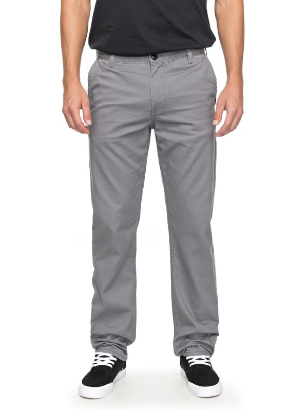 0 Everyday Light Chinos Black EQYNP03136 Quiksilver