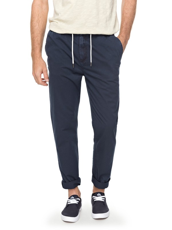 0 Coastal Life Straight Fit Pants  EQYNP03141 Quiksilver