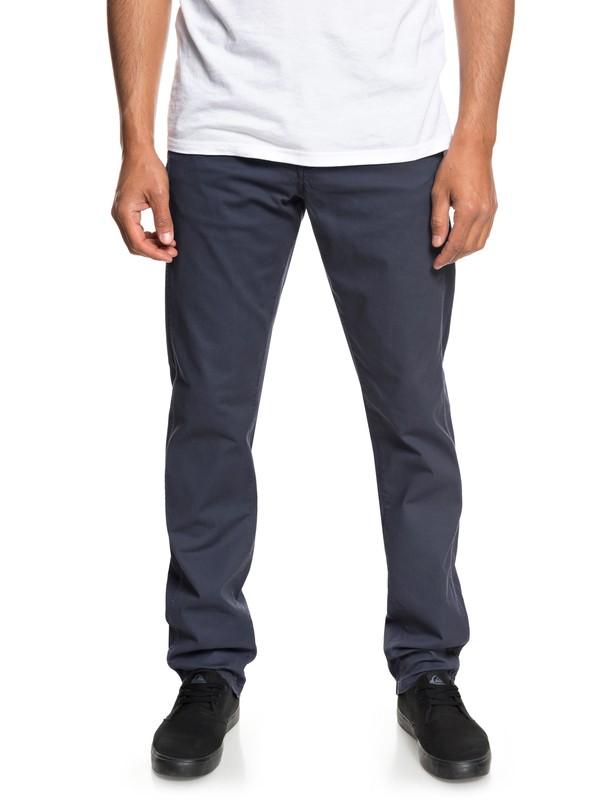 0 Krandy - Rechte broek voor Heren Blue EQYNP03151 Quiksilver