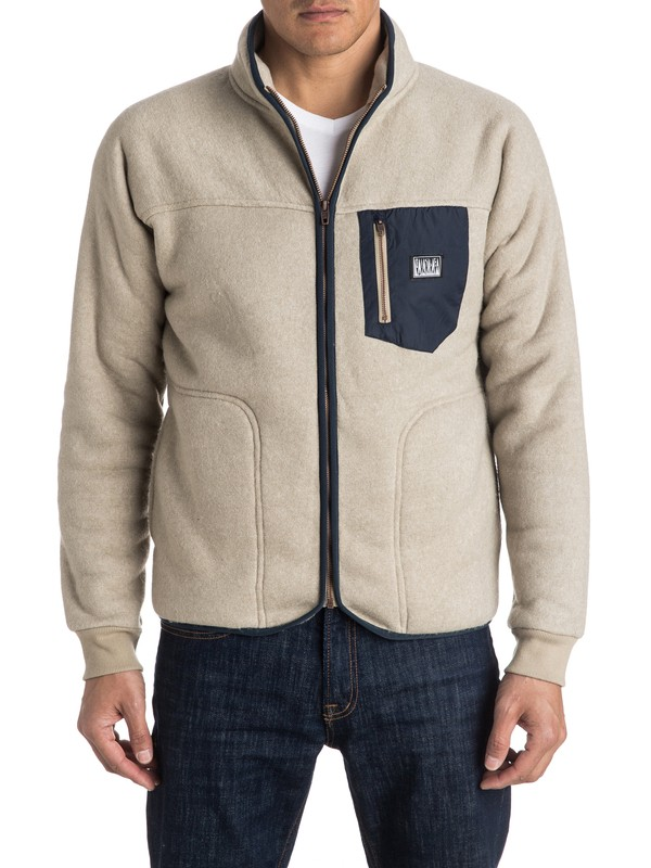 0 Sherpa Surf - Zip-Up Jacket  EQYPF03014 Quiksilver