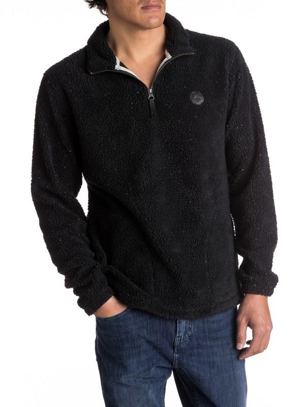 0 Dots Wood - Sweatshirt polaire pour Homme Noir EQYPF03026 Quiksilver