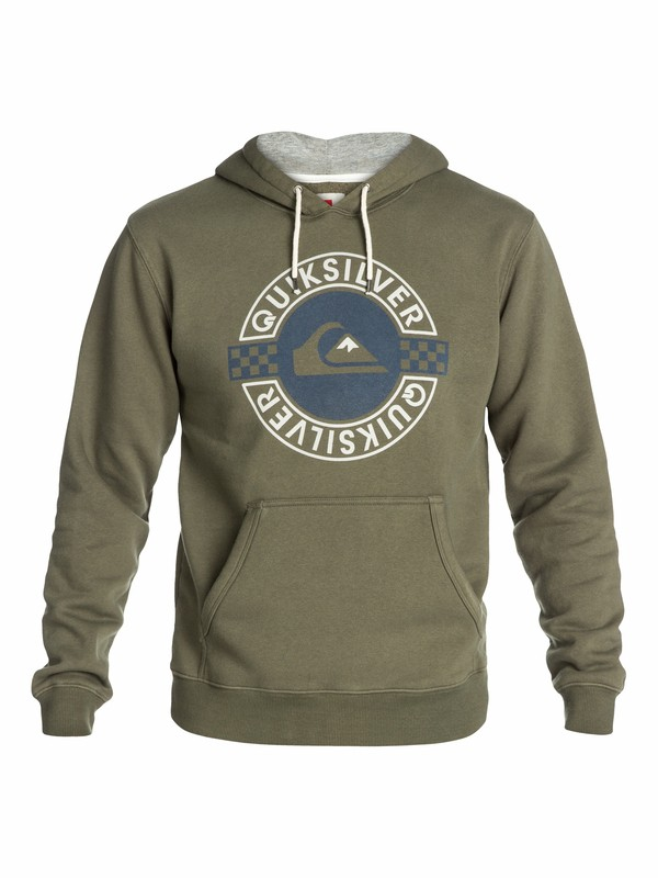 0 Hood Rib Pullover Hoodie  EQYSF03013 Quiksilver