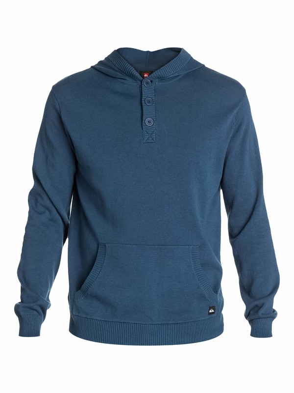 0 Orick Henley Hooded Sweater  EQYSW03007 Quiksilver