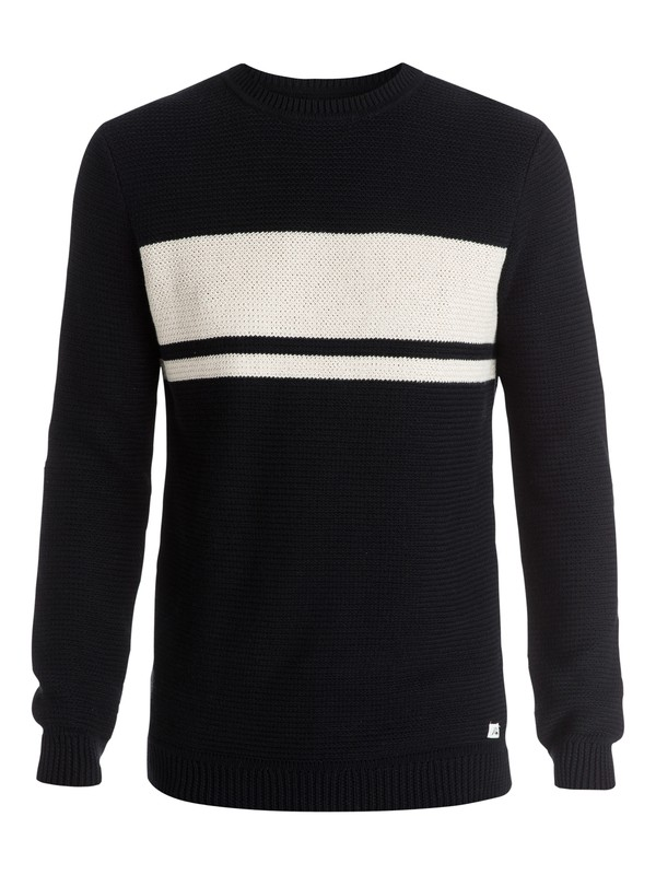 0 Invasion Stripes Sweater  EQYSW03090 Quiksilver