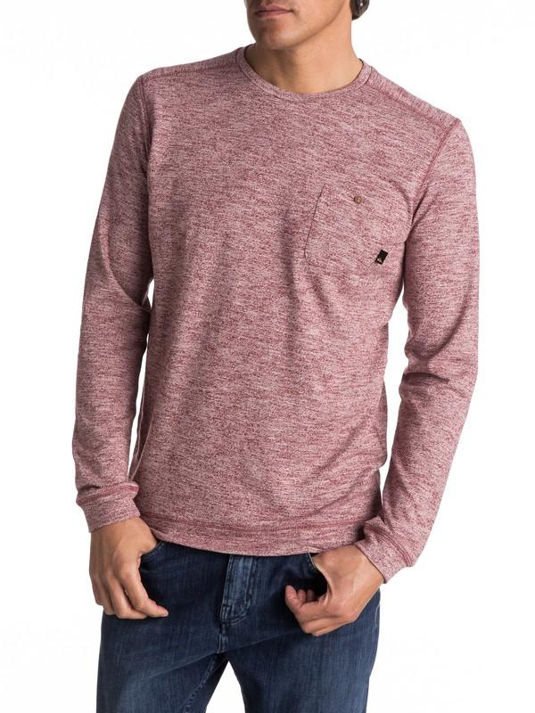 0 Lindow Sweatshirt Red EQYSW03142 Quiksilver