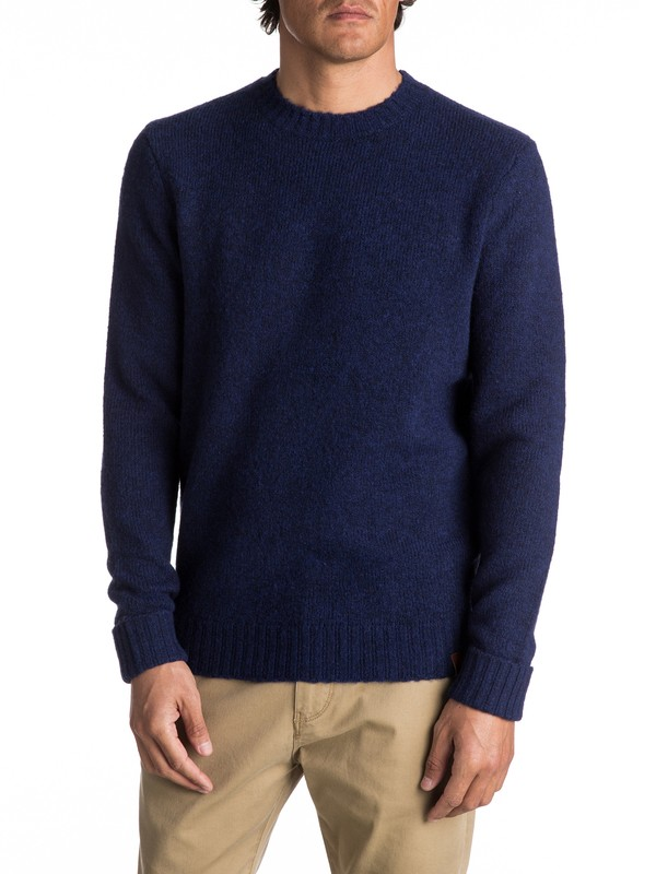 0 Temuka - Pull col rond pour Homme  EQYSW03188 Quiksilver