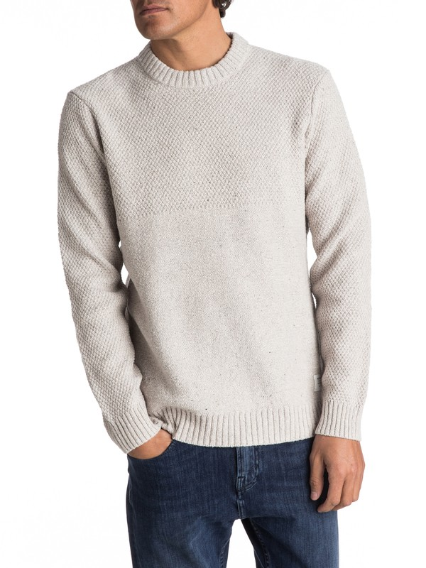 0 Panuku Sweater Grey EQYSW03203 Quiksilver