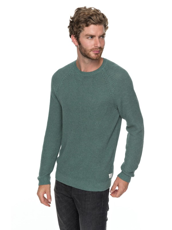 0 Rossemont - Pull col rond pour Homme Bleu EQYSW03208 Quiksilver