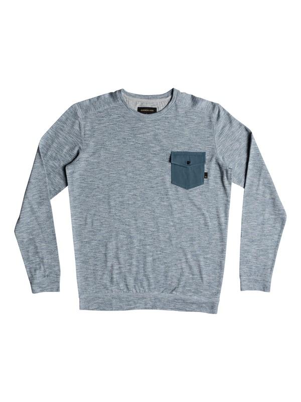0 Lindow Sweatshirt Blue EQYSW03213 Quiksilver