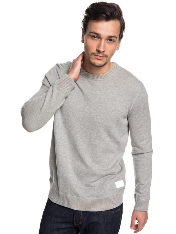 0 Seto Sea Sweater Grey EQYSW03218 Quiksilver