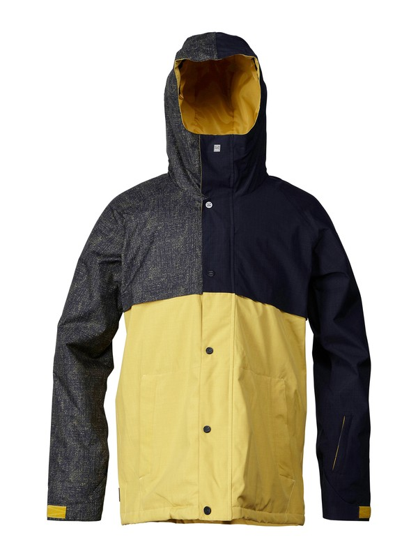 0 Decade 10K Insulated Jacket  EQYTJ00011 Quiksilver