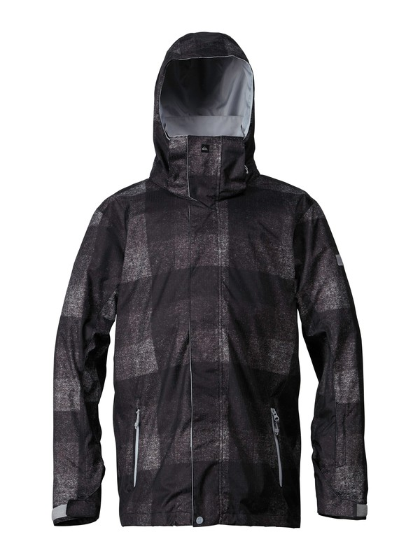 0 MISSION IRISHPLAID SHL JACKET  EQYTJ00036 Quiksilver