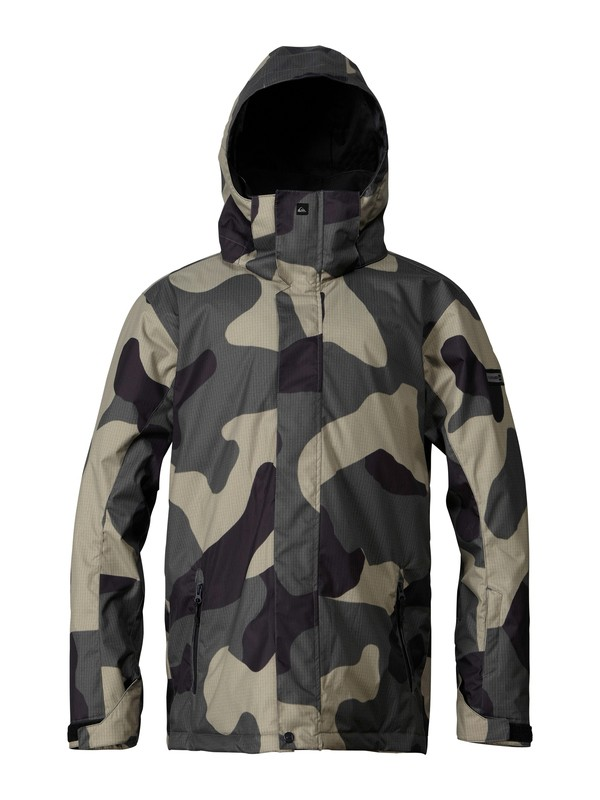 0 Mission 10K Insulated Jacket  EQYTJ00037 Quiksilver